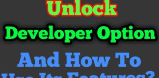 How To Unlock Developer Option