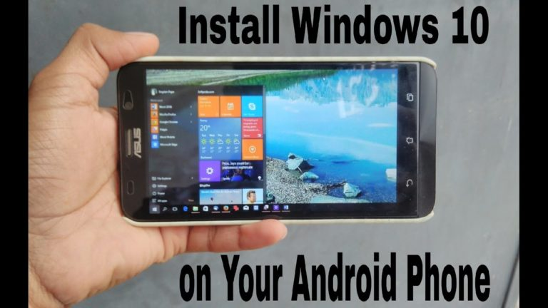 How to Install Windows on Any Android Device