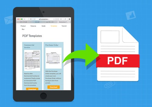 Save Website as PDF on Smartphone