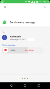 How to Send WhatsApp Voice Message Using Google Assistant