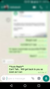 How to Send Automatic Replies on WhatsApp Messenger