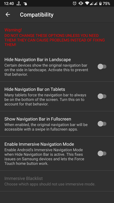 how to hide navigation bar in android