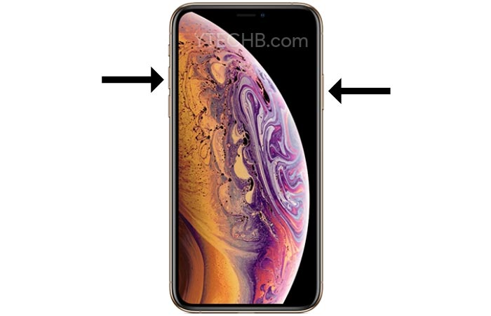 How to Take a Screenshot on iPhone XS