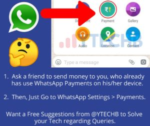 Get WhatsApp Payments on iPhone