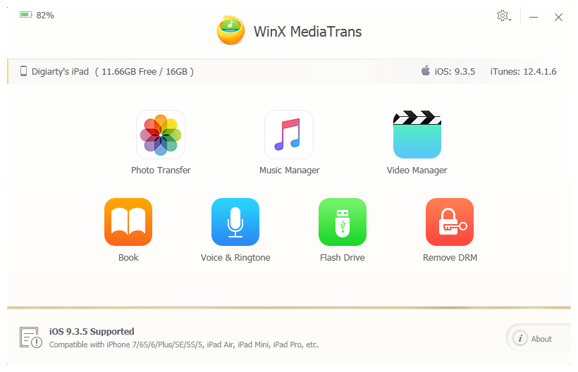 WinX MediaTrans - best itunes alternatives