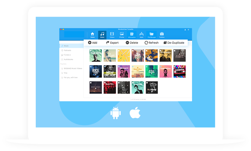 Wondershare TunesGo - itunes alternatives