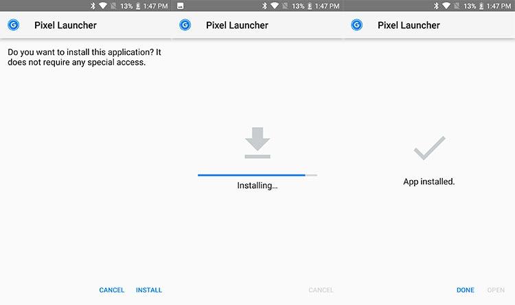 Pixel Launcher 3.6