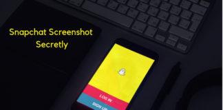 take screenshot on snapchat