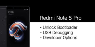 unlock bootloader redmi note 5 pro