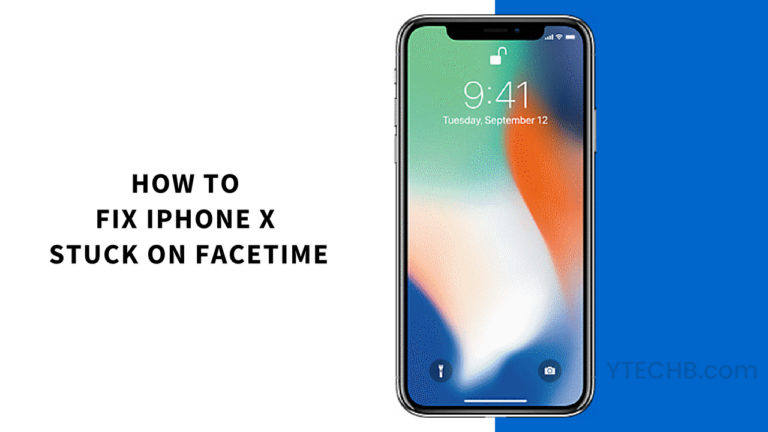 How to Fix iPhone X Stuck on FaceTime Call Ending