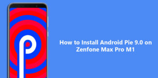 how to install Android p on asus zenfone max pro m1