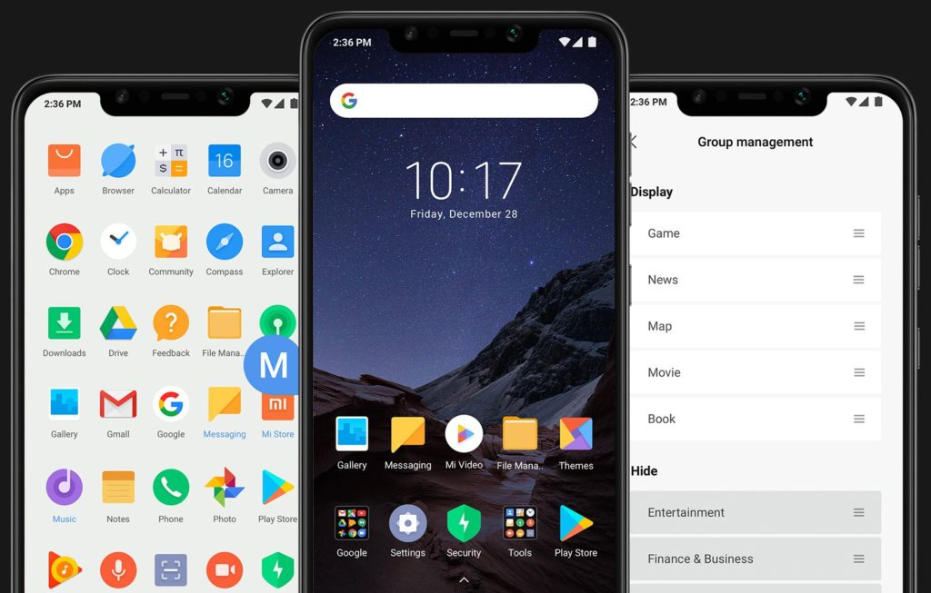 Download poco f1 launcher apk