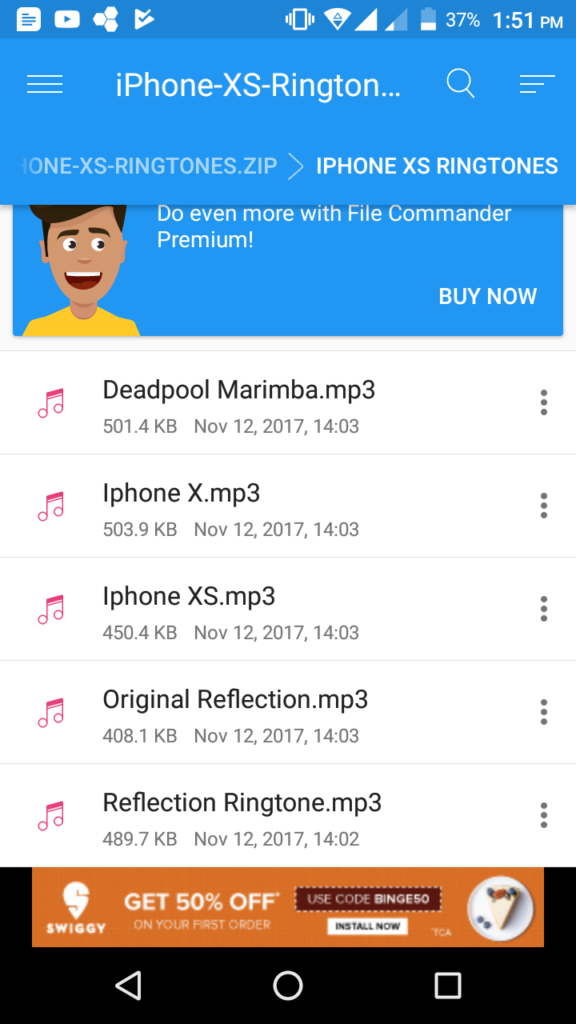 iphone xs ringtone