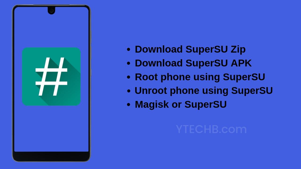 Download Supersu zip