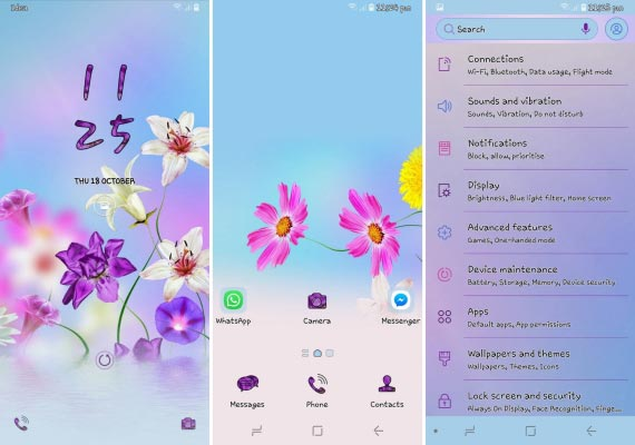 best samsung themes