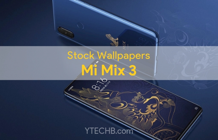 Download Xiaomi Mi Mix 3 Stock Wallpapers in HD