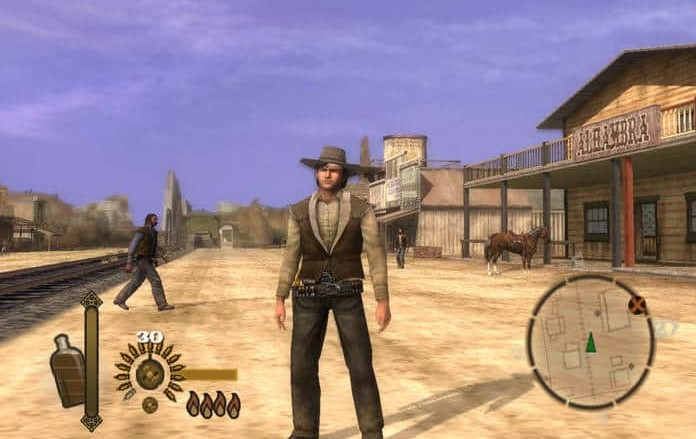 games like Red Dead redemption for ps2
