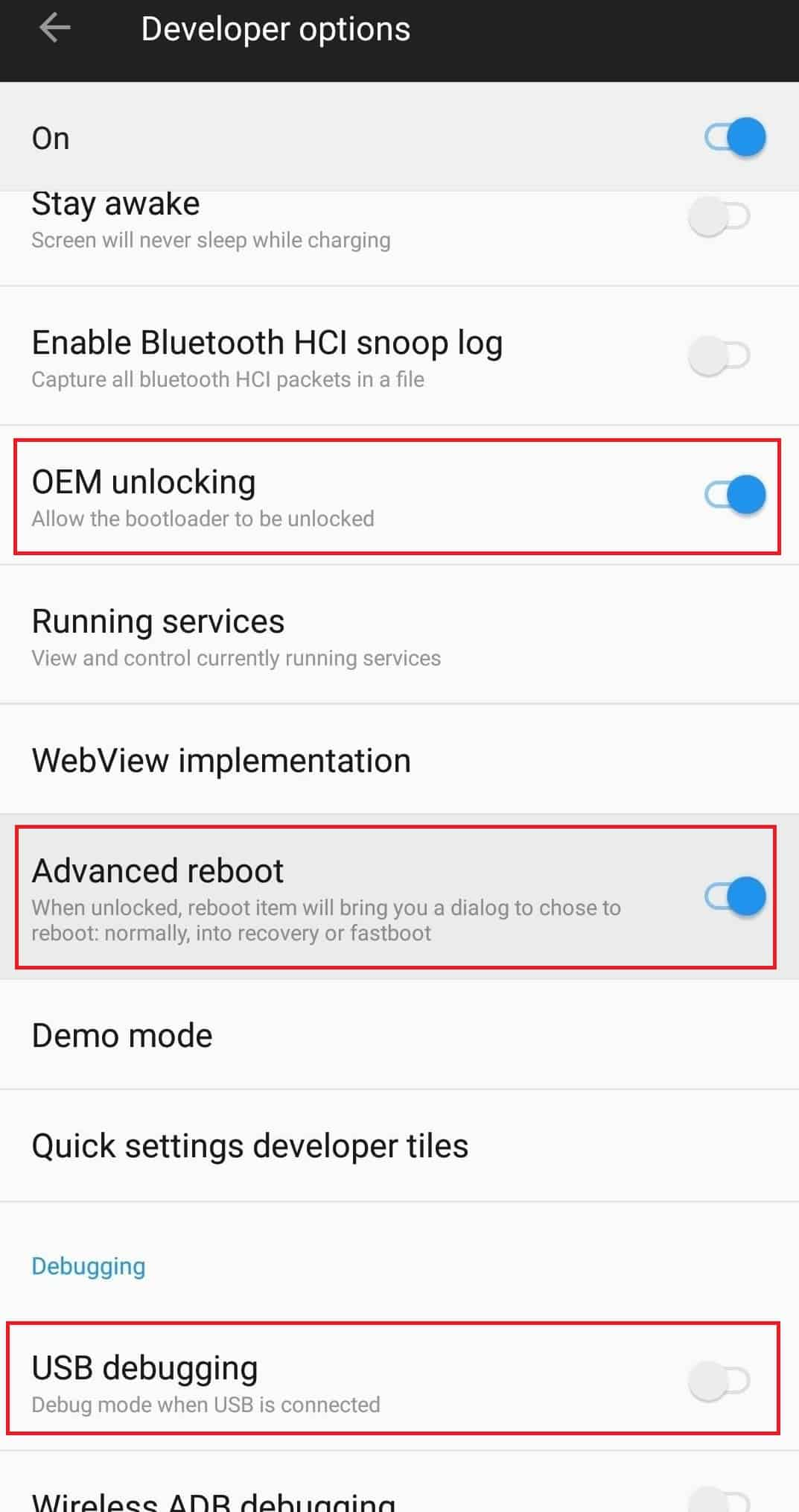 how to unlock bootloader on oneplus 6t