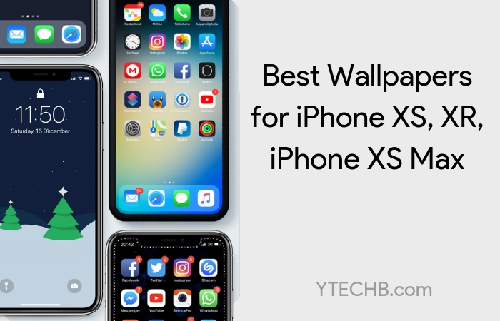 30 Best Wallpapers for iPhone XS, XS Max & iPhone XR in FHD+ Resolution