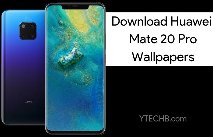 Download Huawei Mate 20 Pro & Mate 20 X Stock Wallpapers [FHD+]