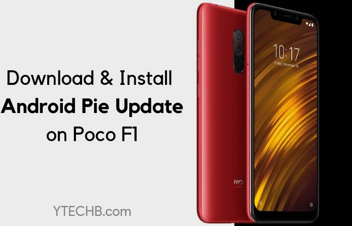 Download Poco F1 Android Pie Stable Update