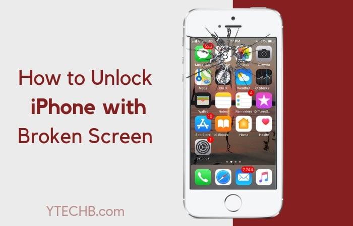 How to Unlock iPhone with Unresponsive Screen/Broken Screen [Easily]