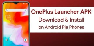 Download OnePlus Launcher for Android Pie