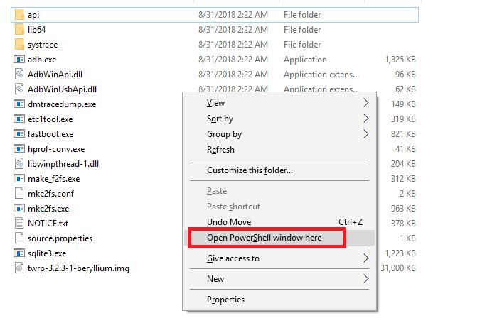 install twrp on poco f1