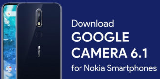 Google Camera 6.1 for Nokia 6.1 Plus