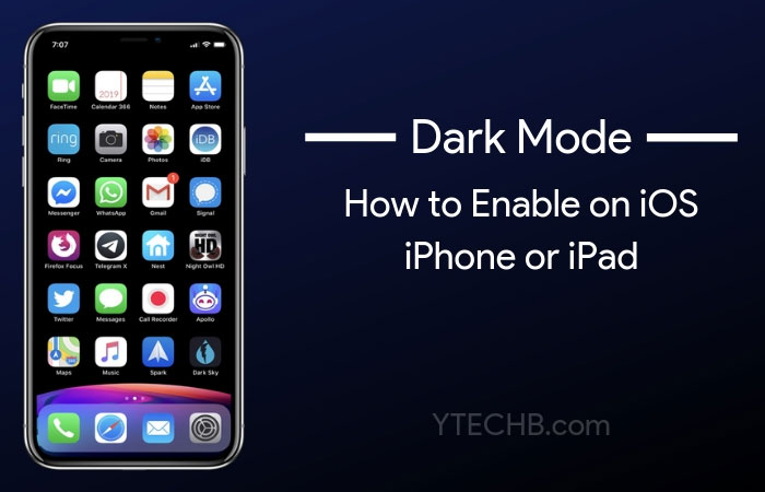 How to Enable Dark Mode on iPhone & iPad in iOS 12 (Quick Setup)