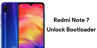 unlock bootloader of redmi note 7