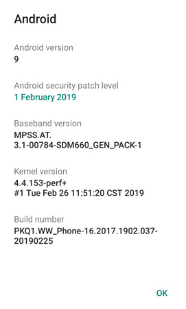 Zenfone max pro m1 android pie beta update