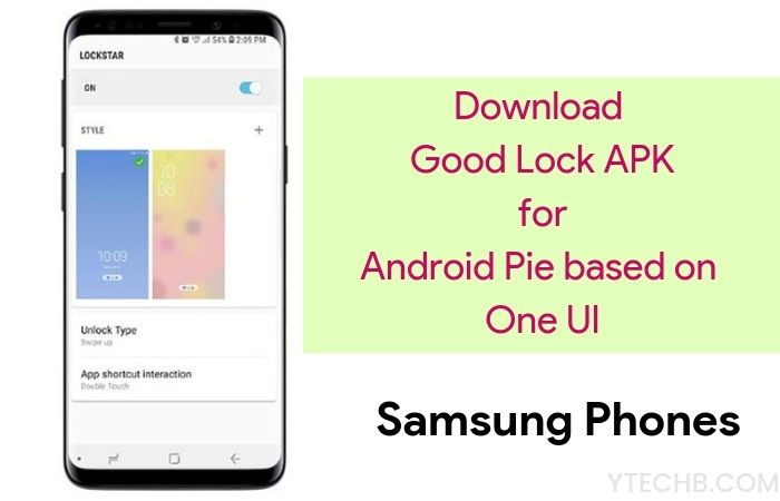 Download Good Lock APK 2019 with Samsung One UI Support