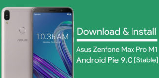 download Asus Zenfone Max Pro M1 Android Pie Update