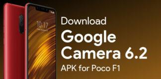 Google Camera 6.2 for Poco F1