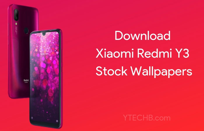 Download Redmi Y3 Stock Wallpapers [FHD+]