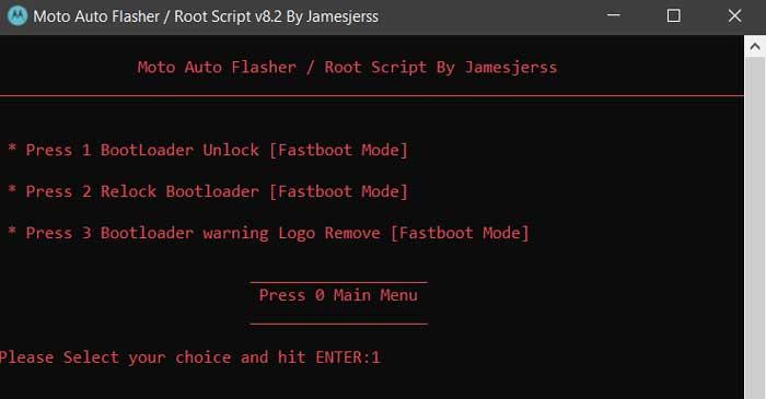 Moto Auto Flash Tool
