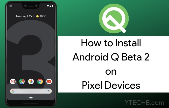 Android Q Beta on Pixel