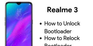 unlock bootloader on realme 3