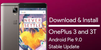 Download OnePlus 3 & 3T Android Pie Update