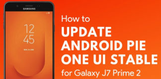 Download Samsung Galaxy J7 Prime 2 Android Pie Update