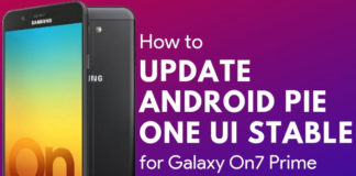 Download Samsung Galaxy On7 Prime Android Pie Update