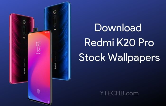 Download Redmi K20 Pro Stock Wallpapers [FHD+] (Updated)
