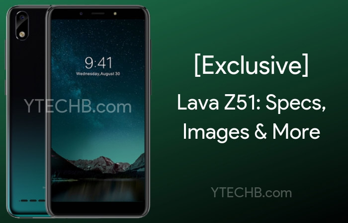 [Exclusive]: Lava Z51 a Budget Phone Coming Soon: Specs and Images