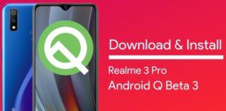 android q beta on realme 3 pro