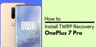 install twrp on oneplus 7 pro