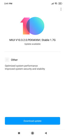 Xiaomi Redmi Note 6 Pro Android Pie Update