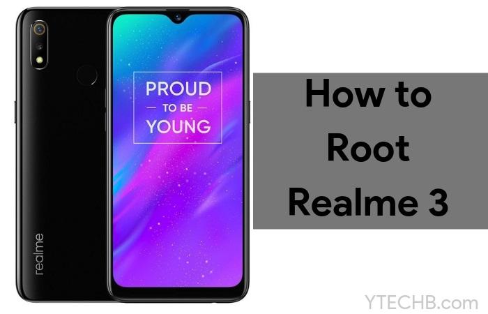root realme 3