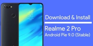 Realme 2 Pro Android Pie Stable Update