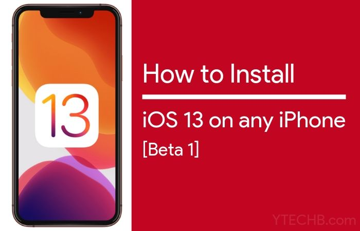How to Install iOS 13 Beta 1 on any iPhone [Mac & Windows] (Right Now)